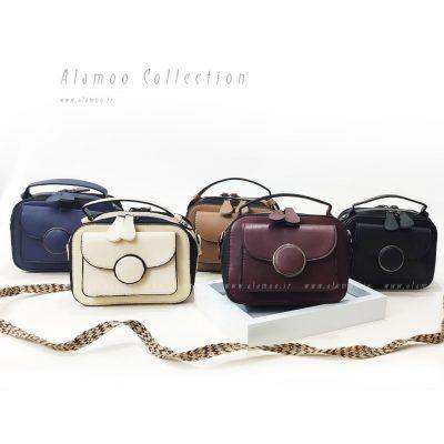 کیف دوشی زنانه چرم مدل لومینو کد B121