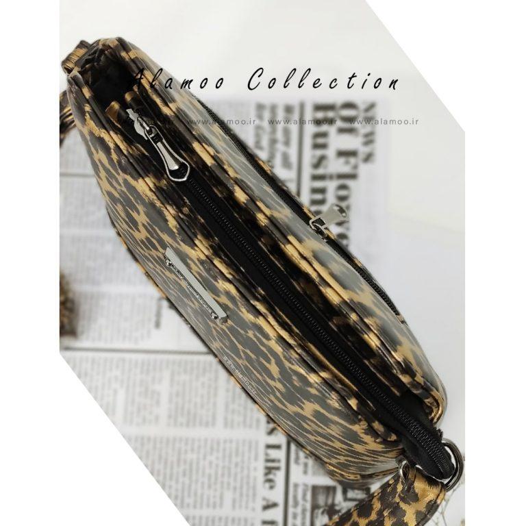 کیف دوشی پلنگی زنانه مدل پلنگی کد B157